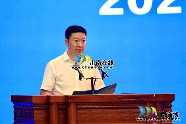泸州、上海、深圳三会场同步连线 2021中国电子(泸州)数字经济生态大会召开(图6)