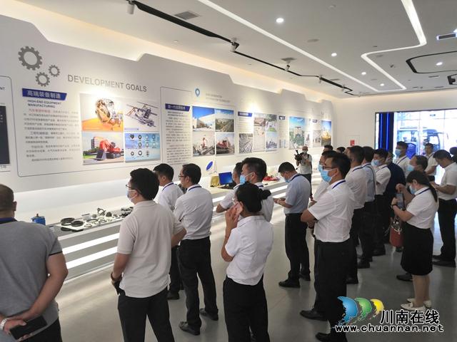泸州、上海、深圳三会场同步连线 2021中国电子(泸州)数字经济生态大会召开(图11)
